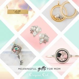 Origami Owl Jewelry - Mother's Day Collection Earrings